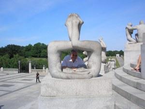 Figure Parco Vigeland di  Oslo